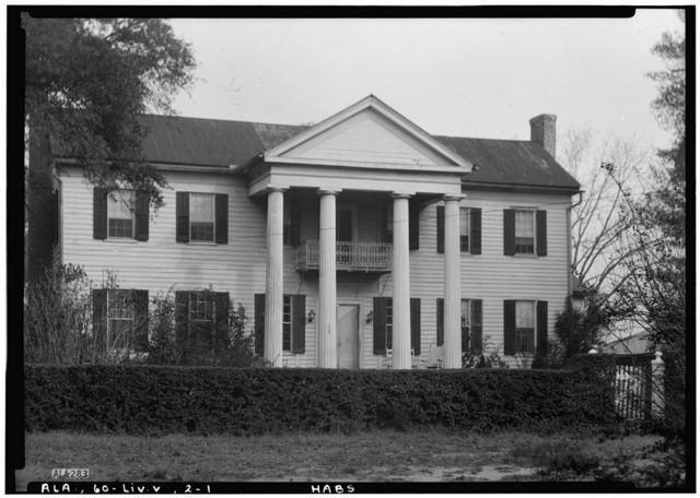 John H. Sherard House, State Road 28, Livingston, Sumter County, AL