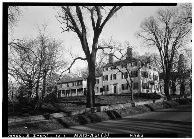 John Heard Estate, State Route 1A, Ipswich, Essex County, MA