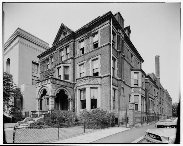 John Holme Ballantine House, 43 Washington Street, Newark, Essex County, NJ