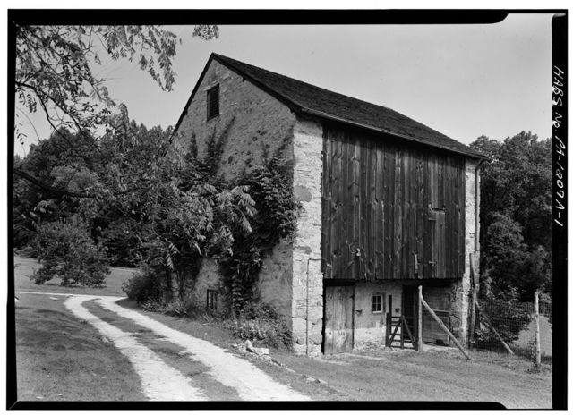 John Jacobs House, Barn, Conestoga & Spring Valley Roads (East Whiteland Township), Bacton, Chester County, PA