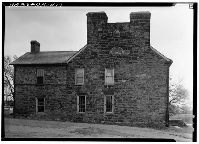 John Krepps Tavern, U.S. 40, Old National Trail, 2.5 miles west of Brownsville, West Brownsville, Washington County, PA