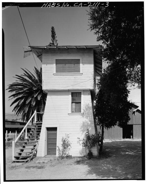 John Krohn Tank House, 13000 Foothill Avenue, San Martin, Santa Clara County, CA