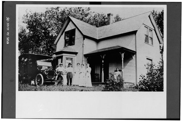 John Mangus Nordin House, County Road 48, North Branch, Chisago County, MN