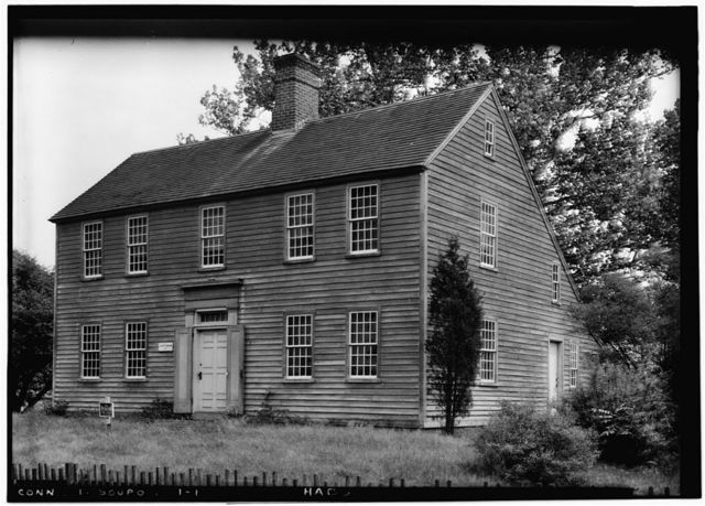John Osborn House, Kings Highway West, Southport, Fairfield County, CT