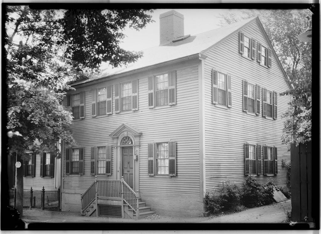 John Reynolds House, 81 Power Street (moved from 31 Benevolent Street), Providence, Providence County, RI
