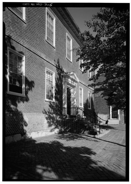 John Ridout House, 120 Duke of Gloucester Street, Annapolis, Anne Arundel County, MD