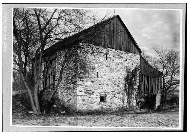 John Romans Barn, Star Gazer Road (West Bradford Township), Romansville, Chester County, PA