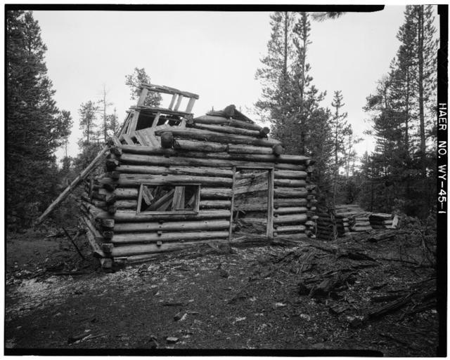 Joker Mine, Medicine Bow National Forest, 3.2 miles Northwest of Keyston, Keystone, Albany County, WY