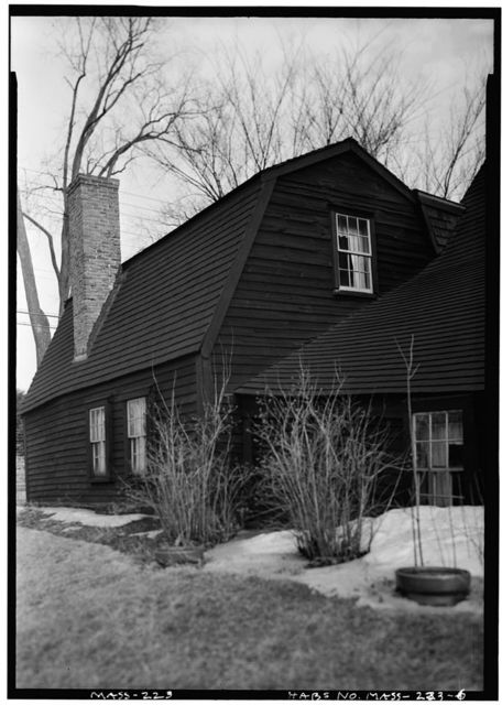 Jonathan Fairbanks House, 511 East Street, Dedham, Norfolk County, MA