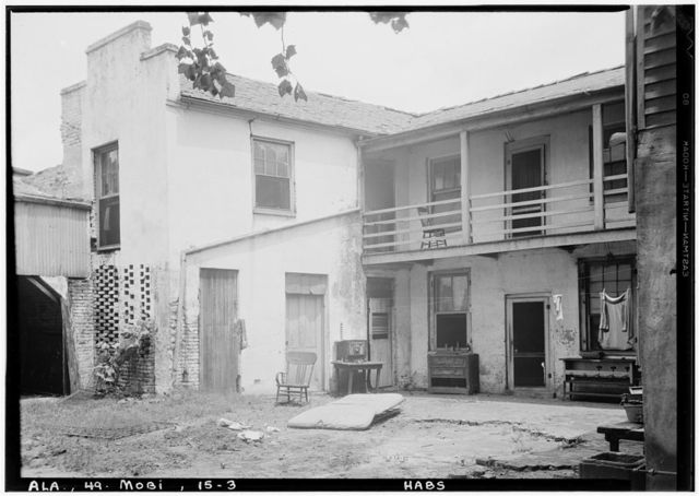 Jonathan Kirkbride House, 104 Theatre Street, Mobile, Mobile County, AL