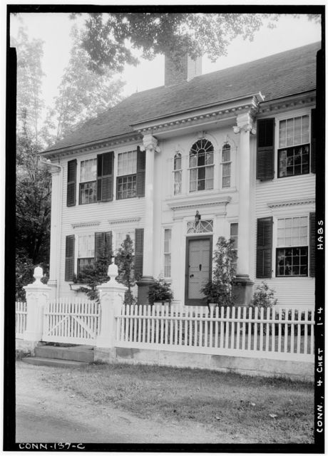 Jonathan Warner House, Middlesex Turnpike, Chester, Middlesex County, CT