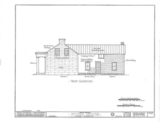 Jones House (Stone), State Highway 24, Jasper, Pike County, OH