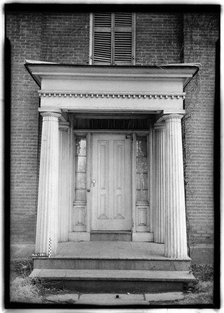 Jones-Menard House, Tremont, Tazewell County, IL