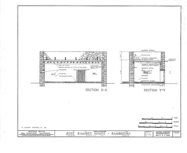 Jose Ramirez House, Falcon Reservoir Site, Falcon, Zapata County, TX