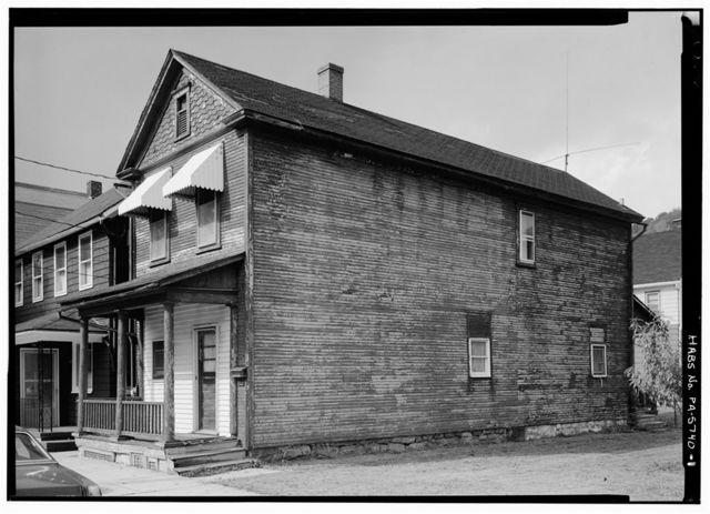 Joseph & Catherine Kelly House, 816 1/2 Chestnut Street, Johnstown, Cambria County, PA