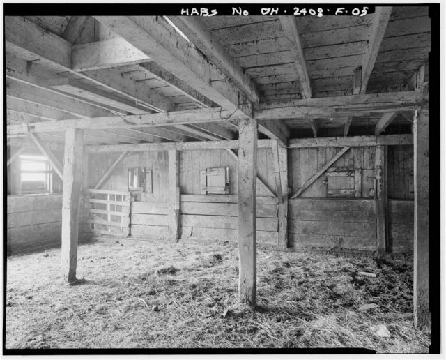 Joseph H. Marshall Farmstead, Barn, West side of U.S. Route 50, .7 mile south of Guysville, Guysville, Athens County, OH