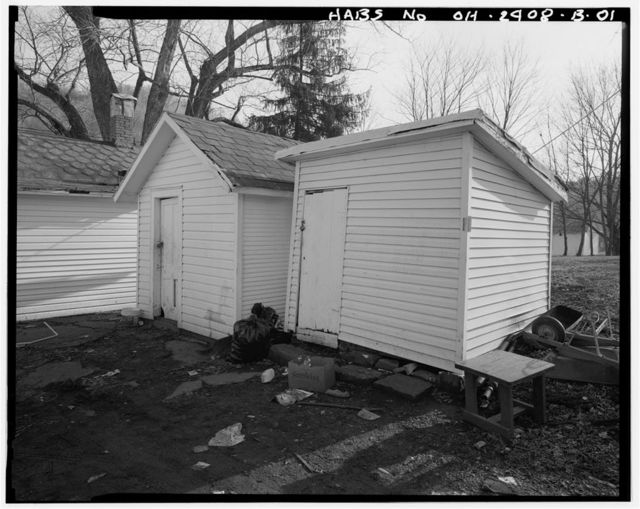 Joseph H. Marshall Farmstead, Storage Building, West side of U.S. Route 50, .7 mile south of Guysville, Guysville, Athens County, OH