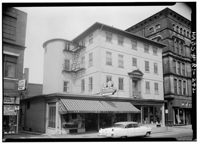 Joseph Russell House, 118 North Main Street (fragments in Brooklyn Museum), Providence, Providence County, RI