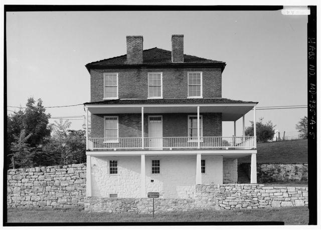 Joseph Sherrick Farm, House, Burnside Bridge Road (Rural Route 1), Sharpsburg, Washington County, MD