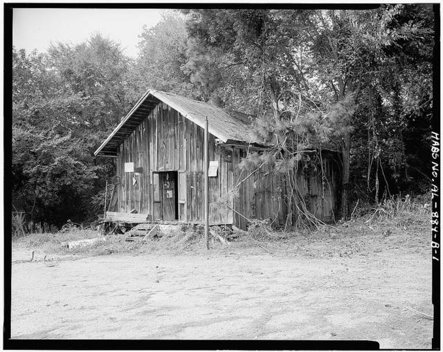 Josiah Haigler Plantation Commissary, County Highway 37 North of U.S. Highway 80, Burkville, Lowndes County, AL