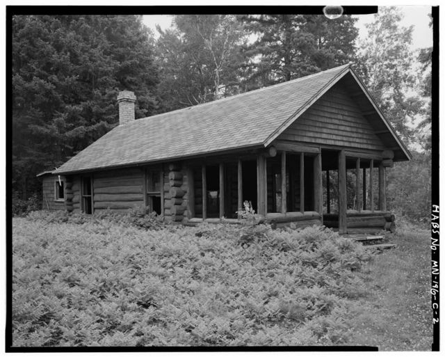 Joyce Estate, Guest Cabin, Chippewa National Forest Road 2144, 3 miles north of County Road 335, Grand Rapids, Itasca County, MN