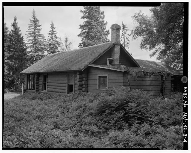 Joyce Estate, Joyce Cabin, Chippewa National Forest Road 2144, 3 miles north of County Road 335, Grand Rapids, Itasca County, MN