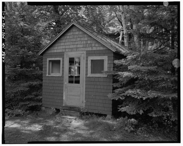 Joyce Estate, Laundry, Chippewa National Forest Road 2144, 3 miles north of County Road 335, Grand Rapids, Itasca County, MN