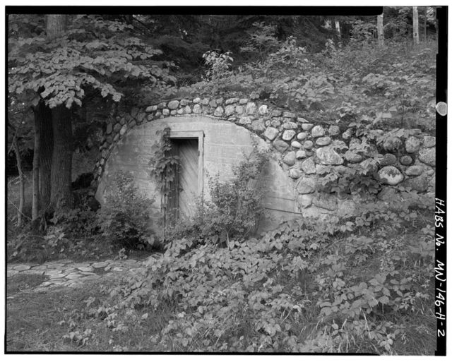 Joyce Estate, Root Cellar, Chippewa National Forest Road 2144, 3 miles north of County Road 335, Grand Rapids, Itasca County, MN