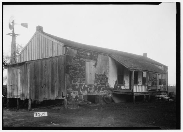 Juan N. Seguin Ranch House, Northwest of Floresville, Floresville, Wilson County, TX