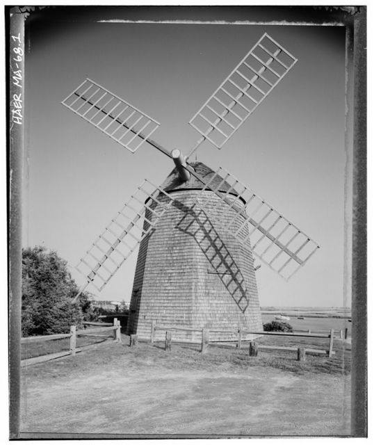 Judah Baker Windmill, Yarmouth, Barnstable County, MA
