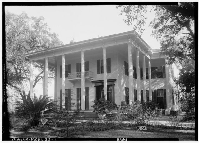 Judge John Bragg House, 1906 Spring Hill Avenue, Mobile, Mobile County, AL