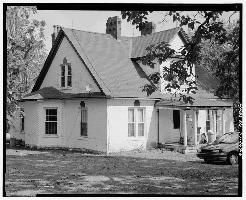 Julia Steele House, 5875 Paris Road (US Highway 27/68); 1 1/5 miles north of Bourbon County line, Paris, Bourbon County, KY