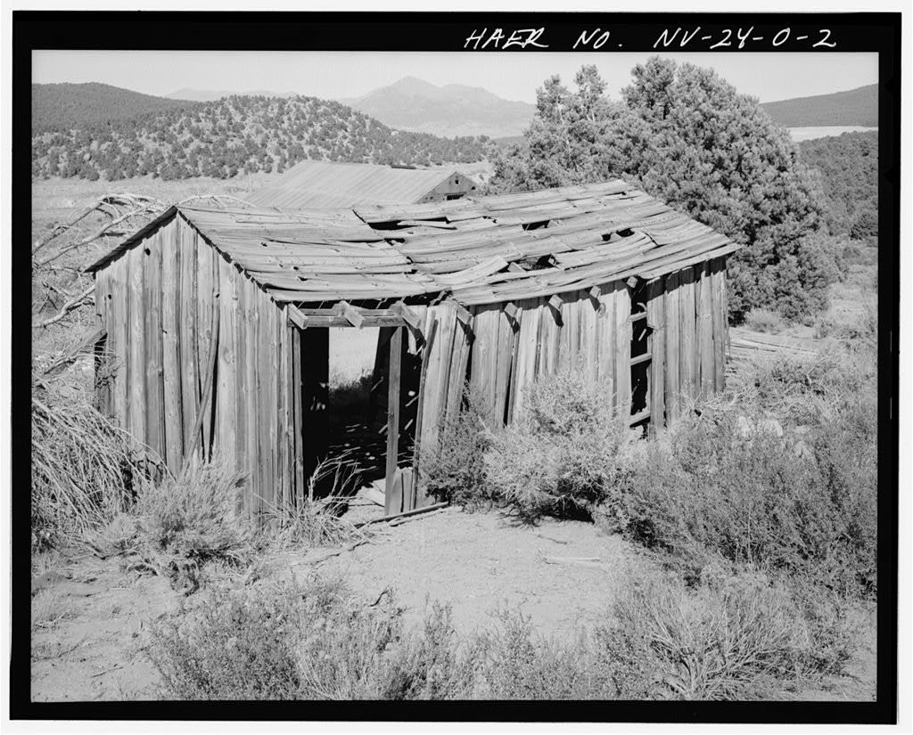 Juniata Mill Complex, Mine & Camp Residence, 22.5 miles Southwest of Hawthorne, between Aurora Crater & Aurora Peak, Hawthorne, Mineral County, NV