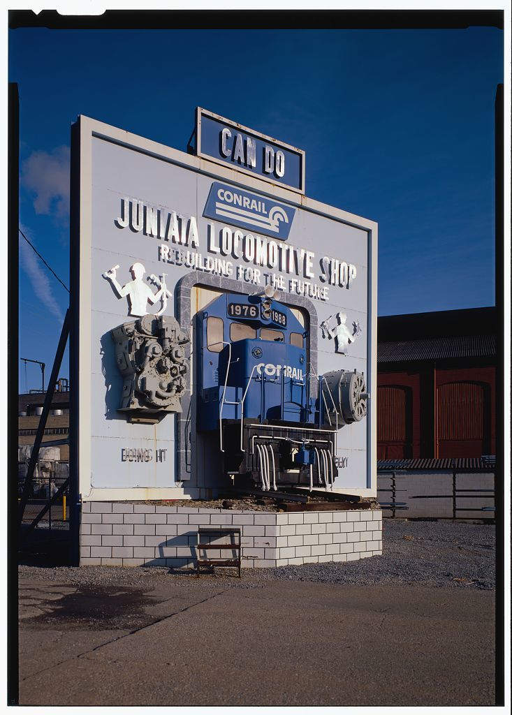 Juniata Shops, East side of Chestnut Avenue, South of Sixth Street, Altoona, Blair County, PA