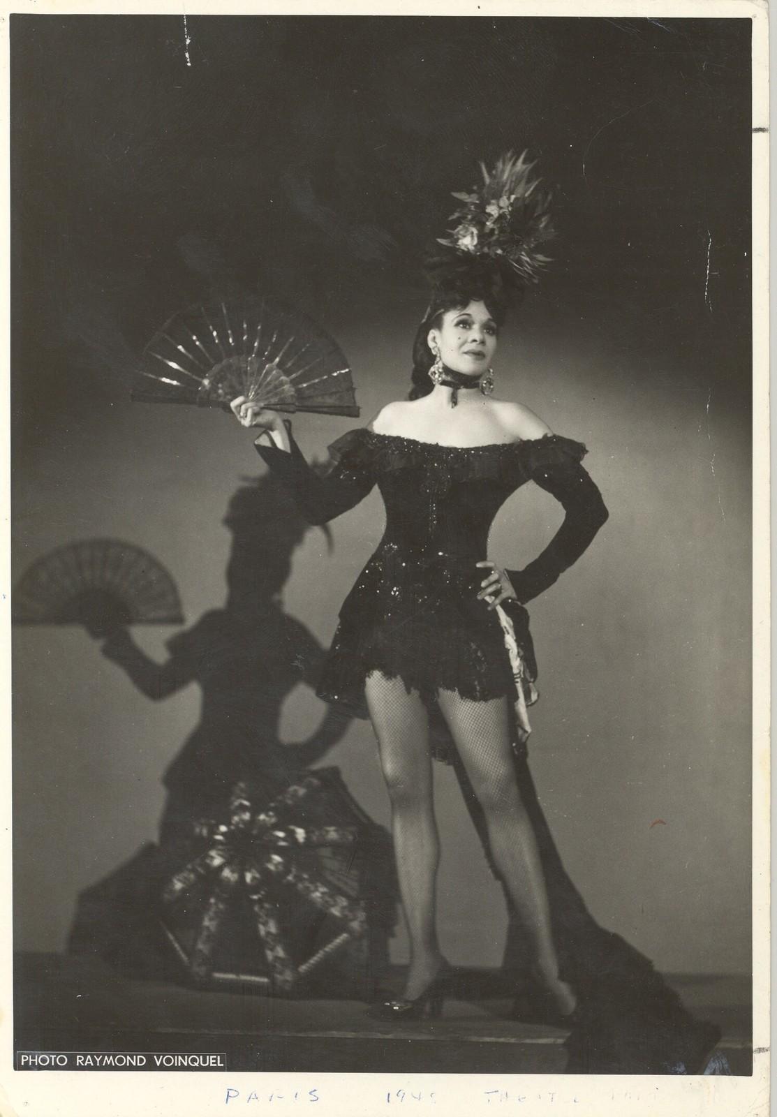 Katherine Dunham at the Theâtre de Paris in 1948