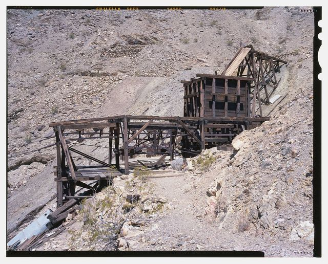Keane Wonder Mine, Park Route 4 (Daylight Pass Cutoff), Death Valley Junction, Inyo County, CA
