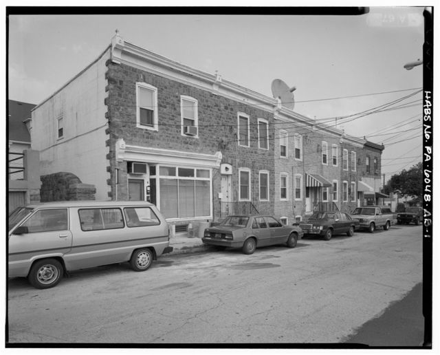 Keasbey & Mattison Company, Attached Row House, 5-15 South Chestnut Street, Ambler, Montgomery County, PA