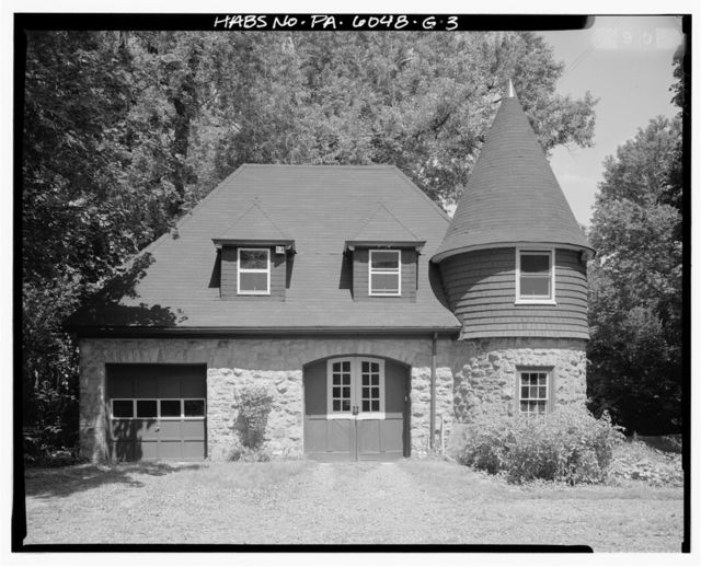 Keasbey & Mattison Company, Executive's House, Carriage House, 5 Lindenwold Avenue, Ambler, Montgomery County, PA