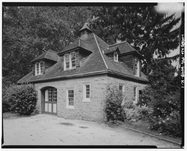 Keasbey & Mattison Company, Executive's House, Carriage House, 7 Lindenwold Avenue, Ambler, Montgomery County, PA