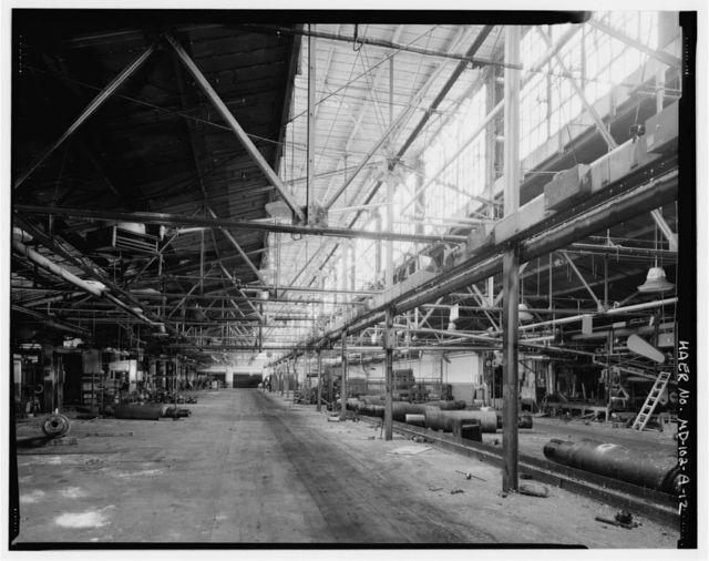 Kelly-Springfield Tire Plant, Factory Building, 701 Kelly Road, Cumberland, Allegany County, MD
