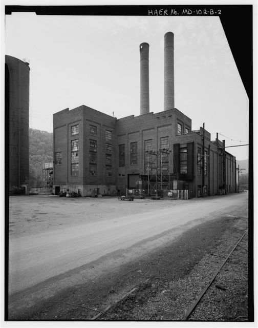 Kelly-Springfield Tire Plant, Power House, 701 Kelly Road, Cumberland, Allegany County, MD