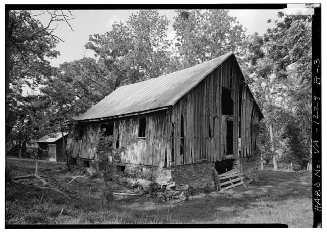 Kenmuir, Barn, Route 613, Trevilians, Louisa County, VA