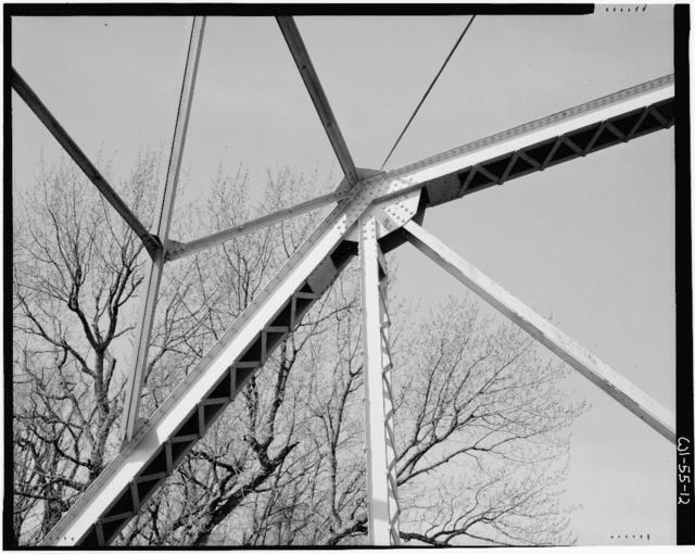 """Kennan-Jump River Bridge, Spanning South fork of Jump River on County Highway """"N"""", Kennan, Price County, WI"""