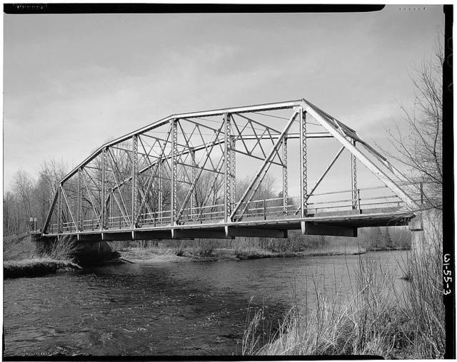"Kennan-Jump River Bridge, Spanning South fork of Jump River on County Highway ""N"", Kennan, Price County, WI"