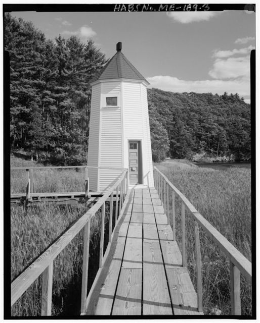 Kennebec River Light Station, South side of Doubling Point Road, off State Highway 127, 1.8 miles south of U.S. Route 1, Arrowsic, Sagadahoc County, ME