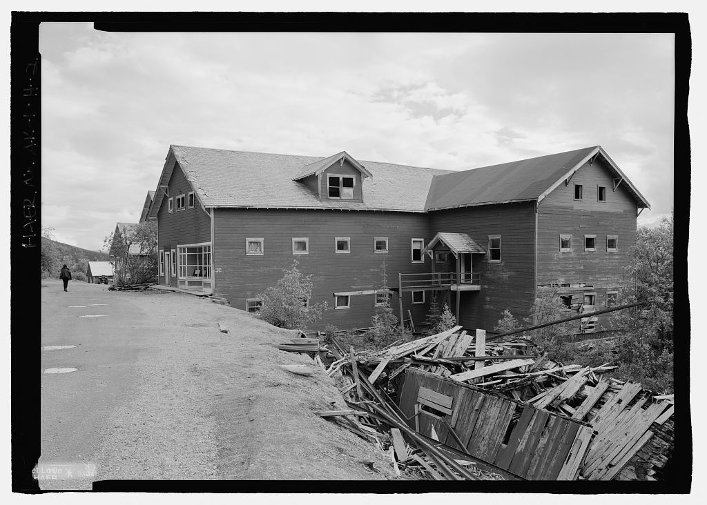 Kennecott Copper Corporation, Company Store & Warehouse, On Copper River & Northwestern Railroad, Kennicott, Valdez-Cordova Census Area, AK