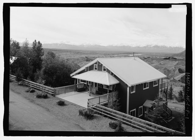 Kennecott Copper Corporation, NPS Interpretation Building, On Copper River & Northwestern Railroad, Kennicott, Valdez-Cordova Census Area, AK