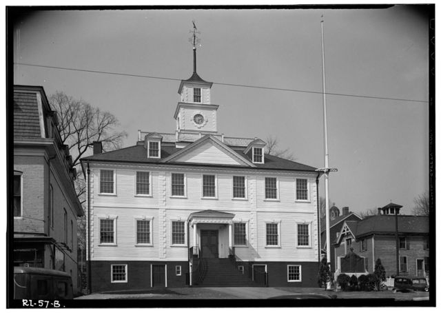 Kent County Courthouse, Main Street (Post Road), East Greenwich, Kent County, RI