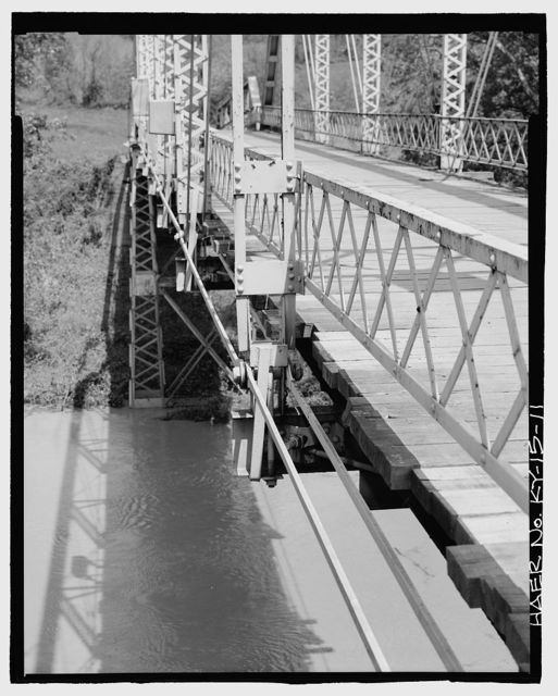 Kentucky Route 708 Bridge, Spanning Middle Fork of Kentucky River, Tallega, Lee County, KY