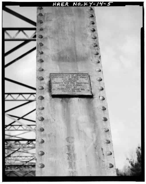 Kentucky Route 840 Bridge, Spanning Cumberland River, Loyall, Harlan County, KY